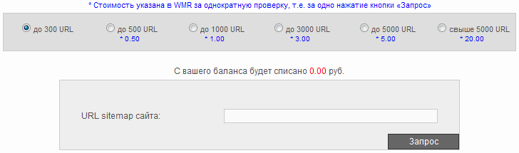 Проверка PR внутренних страниц